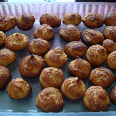 Mes gougeres au fromage 01