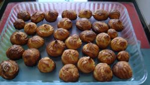 Mes gougeres au fromage